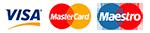 Оплата картой Visa или MasterCard