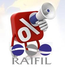 Скидка на Raifil 5%